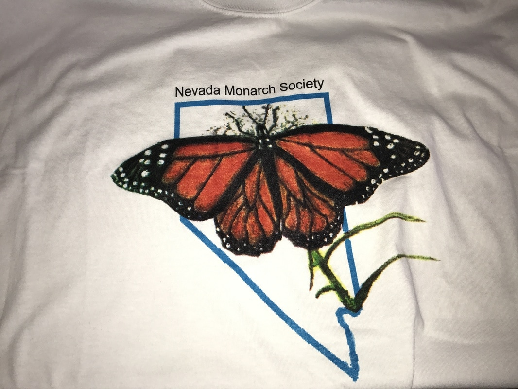 Nevada Monarch Society shirt